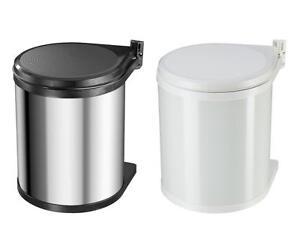 Hailo compact box 15 einbau abfallsammler 15l mulleimer for Mülleimer einbau unterschrank