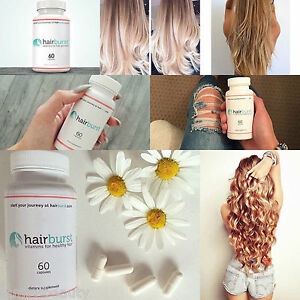 hairburst vitamine f r die haare 1 dose 60 kapseln f r 1 monat haarwuchsmittel ebay. Black Bedroom Furniture Sets. Home Design Ideas