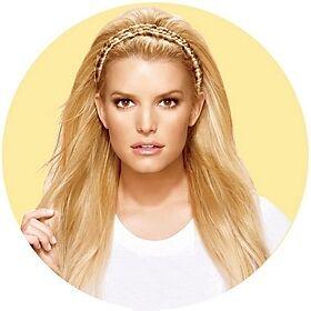 Fake Hair Plait Headband Blonde 70