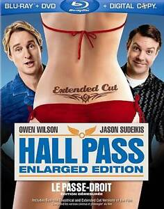 Hall Pass (Blu-ray Disc, 2011, 2-Disc Se...