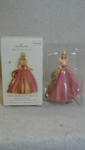 Hallmark Keepsake Celebration Barbie Ornament 2009 Special Series Edition MIB in Collectibles, Decorative Collectibles, Decorative Collectible Brands | eBay
