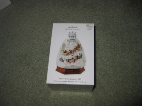 Hallmark Ornament Merry Christmas To All New 2012 Magic in Collectibles, Decorative Collectibles, Decorative Collectible Brands | eBay