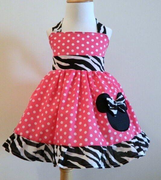 Trajes de Minnie Mouse para niñas - Imagui