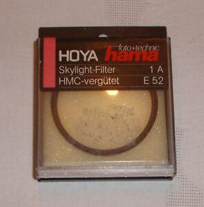 Hama Foto Spiegelreflex Kammera Skylight Filter - 1A - HMC - E52 Gewinde - Adelsdorf, Deutschland - Hama Foto Spiegelreflex Kammera Skylight Filter - 1A - HMC - E52 Gewinde - Adelsdorf, Deutschland