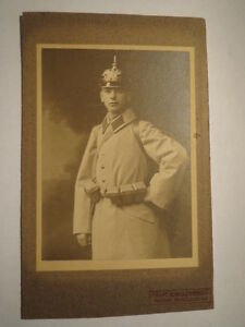 hamburg soldat werner langbein in uniform pickelhaube. Black Bedroom Furniture Sets. Home Design Ideas