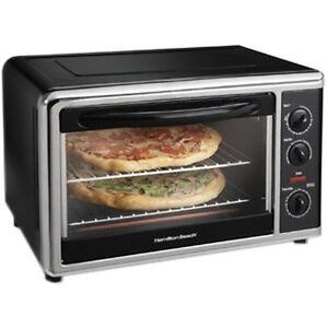 Small Countertop Electric Oven : Hamilton Beach Small Appliances 31100 Electric Oven Convection Baking ...