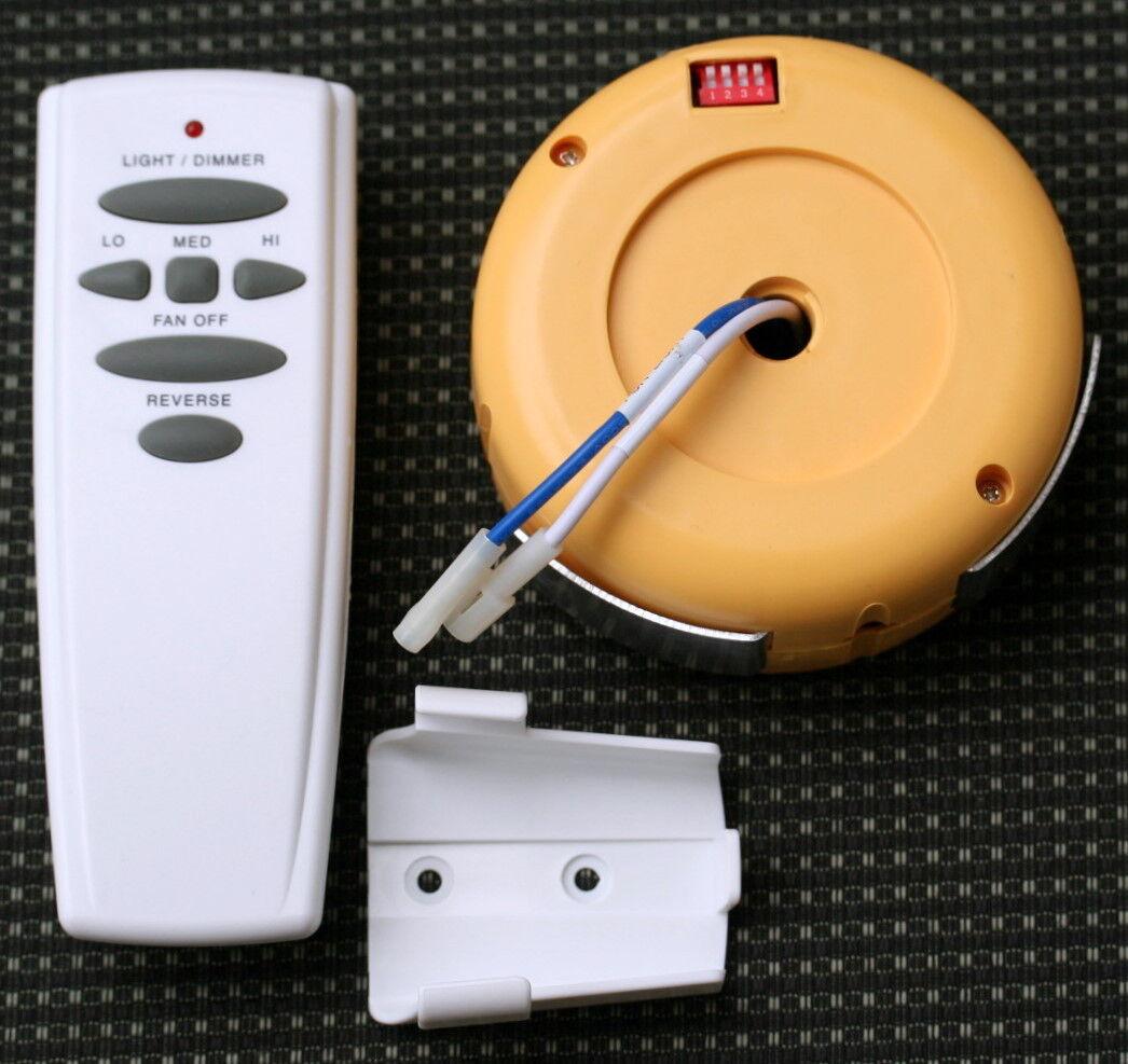 Hampton Bay Redington 2 Fan Remote Control with Receiver New
