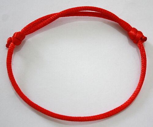 RED STRING...... Good Luck bracelet kabbalah against ...