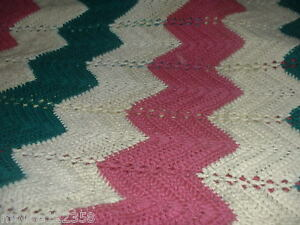ZIGZAG CROCHET AFGHAN PATTERN | Easy Crochet Patterns