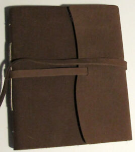 Handmade Paper and Leather Rugged Western 5x7 Journal Lace Tied in Books, Accessories, Blank Diaries & Journals | eBay