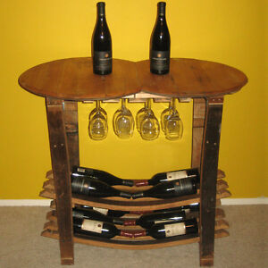 Handmade-Wooden-Barrel-Wine-Tasting-Table-Rack