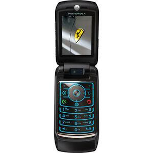 Handy-Motorola-RAZR-maxx-V6-Ferrari-Edition-Black-Schwarz-NEU-OVP