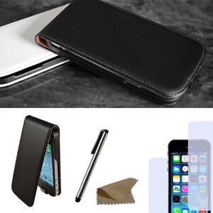 Handy-Tasche-fuer-Apple-iPhone-Flip-Case-Schutz-Huelle-Cover-Etui