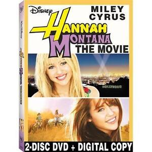 Hannah Montana The Movie (DVD, 2009, 2-D...