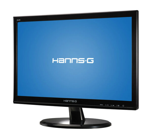 """Hanns G HL203 20"""" Widescreen LED LCD Monitor with Built in Speakers"""