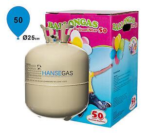 hansegas ballongas f r 50 ballons helium einwegflasche extragro 0 42m ebay. Black Bedroom Furniture Sets. Home Design Ideas