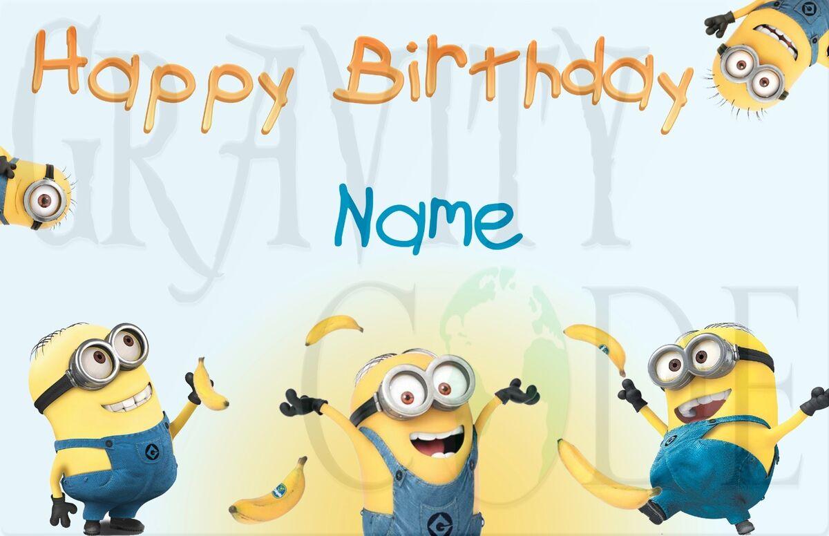 Миньоны с днем рождения поздравления с днем рождения 98