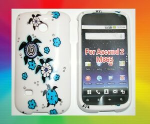 Straight Talk Huawei M865c Ascend Ii 2 Faceplate Phone Cover Hard Case