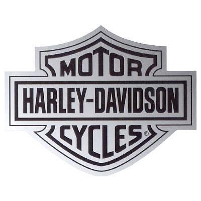 Harley Davidson Chrome Bar Shield Decal
