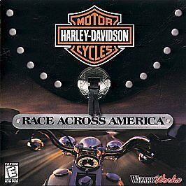 Harley Davidson Race Across America PC, 1999