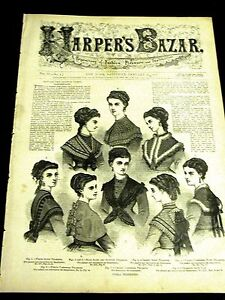 Harpers-Bazar-January-23-1869-VICTORIAN-FASHION-Capes-Evening-Dresses-Ribbon