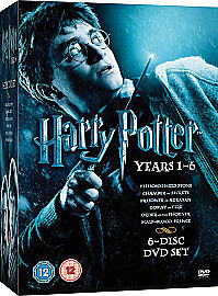 Harry Potter Collection - Years 1-6 (DVD...