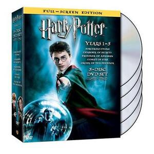 Harry Potter Years 1-5 (DVD, 2008, 5-Dis...