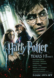 Harry Potter: Years 1-7, Part 1 (DVD, 20...
