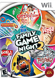 Hasbro Family Game Night 2  (Nintendo Wi...