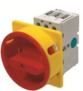 Hauptschalter-Drehschalter-Kranschalter-Not-Aus-Schalter-16A-3-phasig