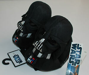 hausschuhe neu usa 26 27 star wars darth vader schwarz schuhe ebay. Black Bedroom Furniture Sets. Home Design Ideas