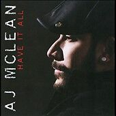 Have It All by A.J. McLean (CD, Mar-2010...