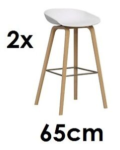 hay about a stool hay 2x barhocker 65cm aas 32 weiss design hee welling aas 32 ebay. Black Bedroom Furniture Sets. Home Design Ideas