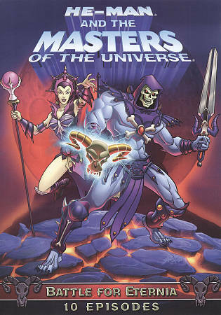 He Man and the Masters of Universe Battle of Eternia DVD, 2010