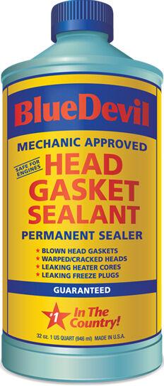 Head Gasket Sealant Blue Devil Permanent Sealer 32 Oz On Popscreen