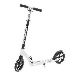 head urban scooter wei schwarz cityroller f r erwachsene. Black Bedroom Furniture Sets. Home Design Ideas
