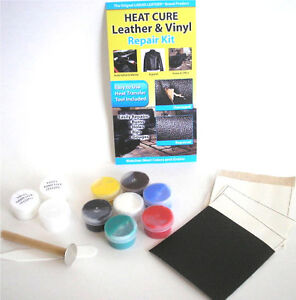 Heat Cure Liquid Leather Amp Vinyl Repair Kit Fix Rips Burns