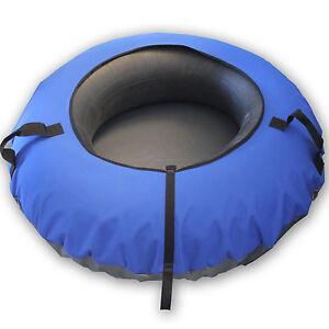 heavy duty snow sled tube with blue cover huge rubber. Black Bedroom Furniture Sets. Home Design Ideas