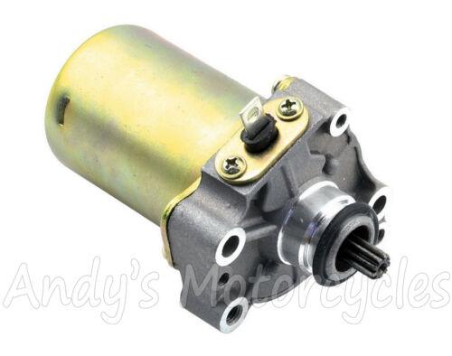 Heavy duty electric start starter motor for piaggio fly for Heavy duty dc motor