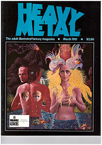 Heavy-Metal-Comics-March-1981-The-adult-illustrated-Magazine-Englisch