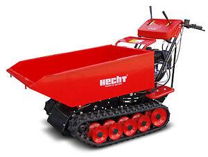 Hecht-2665-Dumper-Muldenkipper-Motorschubkarre-Raupentransport-Schubkarre