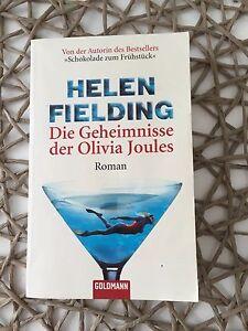 Helen-Fielding-Taschenbuch-Die-Geheimnisse-der-Olivia-Joules