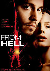 From Hell (DVD, 2002, Single Disc; Lenti...