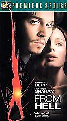 From Hell (VHS, 2002, Premiere Series)