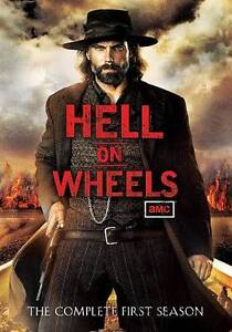 Hell on Wheels: Season 1 (DVD, 2012, 3-D...