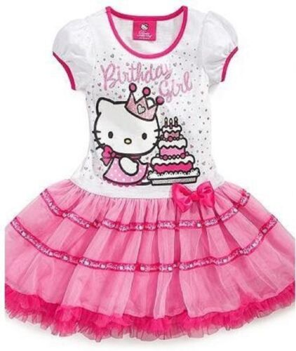 Hello Kitty Girl's Pink Birthday Tutu Dress Size 4/5/6-NWT in Clothing, Shoes & Accessories, Kids' Clothing, Shoes & Accs, Girls' Clothing (Sizes 4 & Up)   eBay