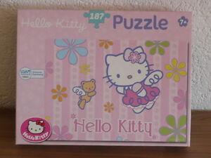 Hello Kitty---Puzzle---187 Teile---440x300 mm--Bezaubernde Hello Kitty--Alter 7 - Roggenburg, Deutschland - Hello Kitty---Puzzle---187 Teile---440x300 mm--Bezaubernde Hello Kitty--Alter 7 - Roggenburg, Deutschland