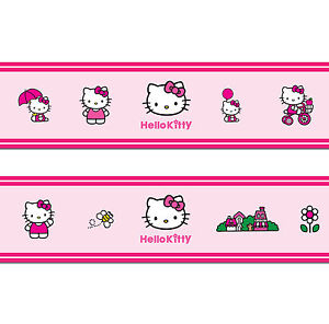 Hello Kitty Self Adhesive Decorative Wall Border 5