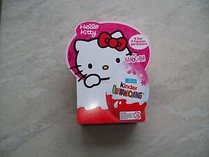 Hello-Kitty-U-Ei-Kinderueberraschung-4er-Pack-2-Figuren-Garantiert-NEU