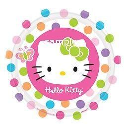Hello Kitty edible cake image topper 12 cupcake